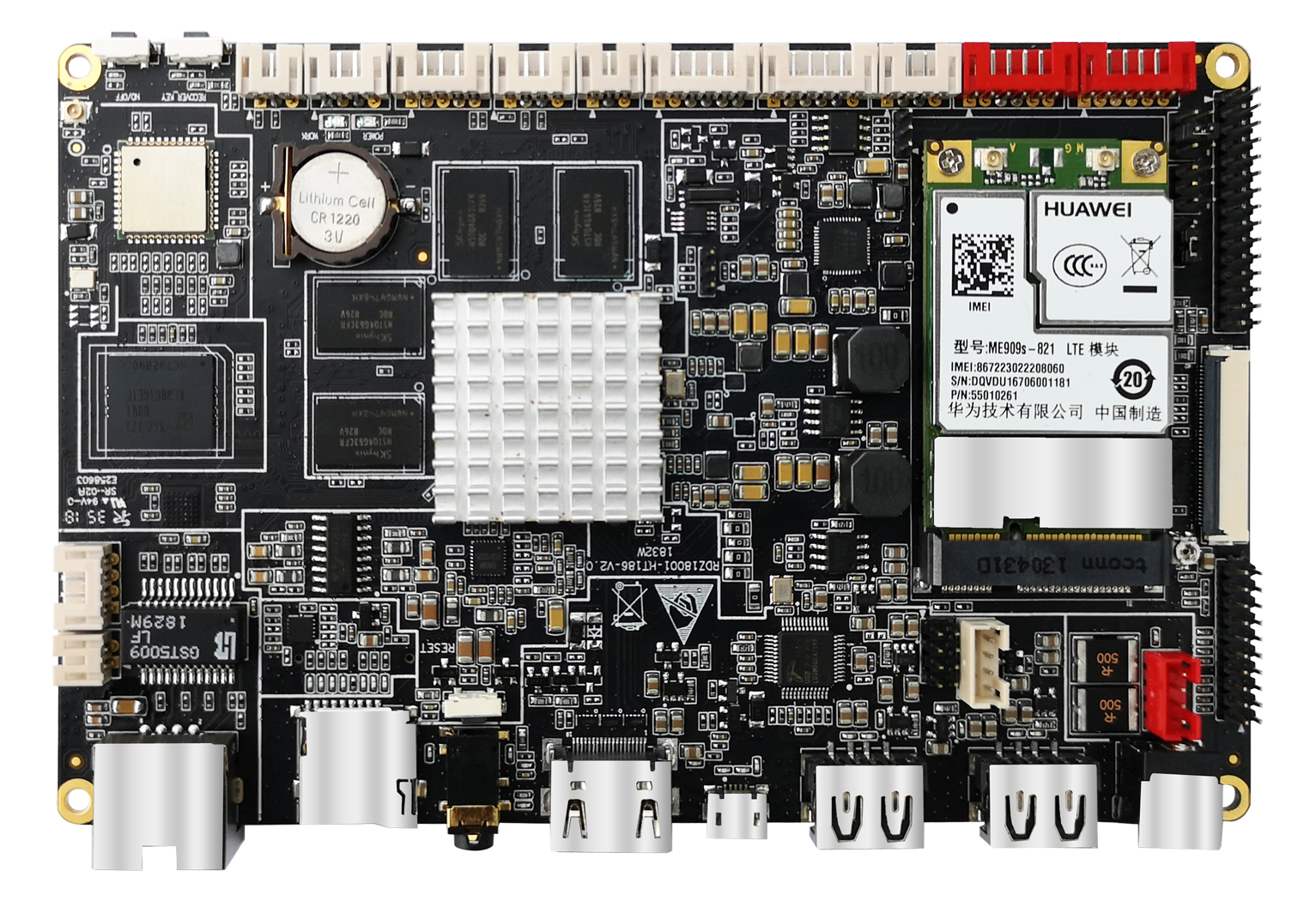 Huaptec Smart motherboard HT-186