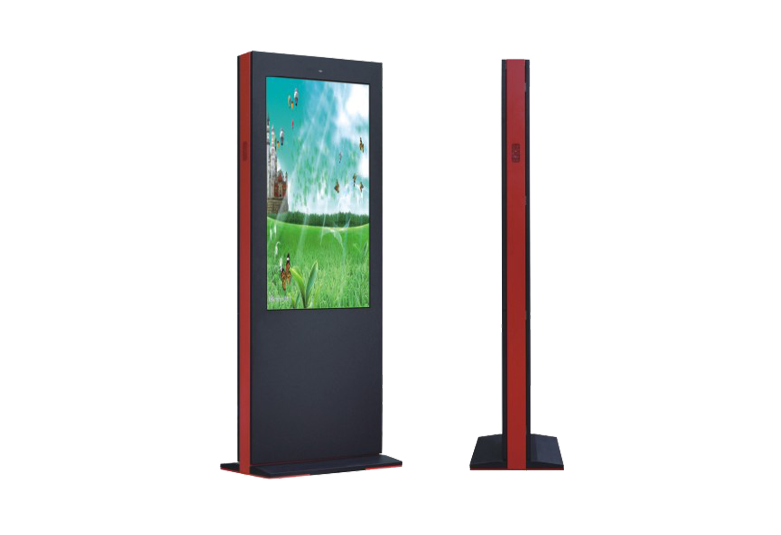 43/55 inch outdoor standing android (Without  touch)